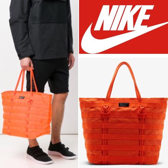 4f2ae5d3c029 Nike Sportswear AF1 Tote Orange